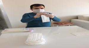 Eflani Halk Eğitim Merkezi Maske Yapımı
